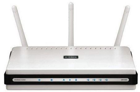 D   Link DIR 655 Gigabit N Router mit drei Richtantennen für 45,90€