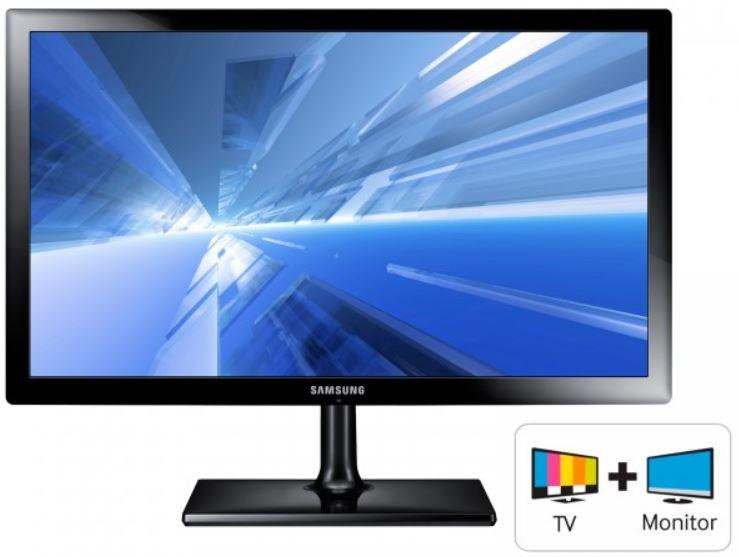 Samsung SyncMaster T27C370EW   27 Zoll Full HD LED Monitor & TV für 229€