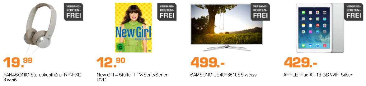SAMSUNG UE40F6510S   40 Zoll TV für 499€ und mehr neue SATURN Angebote