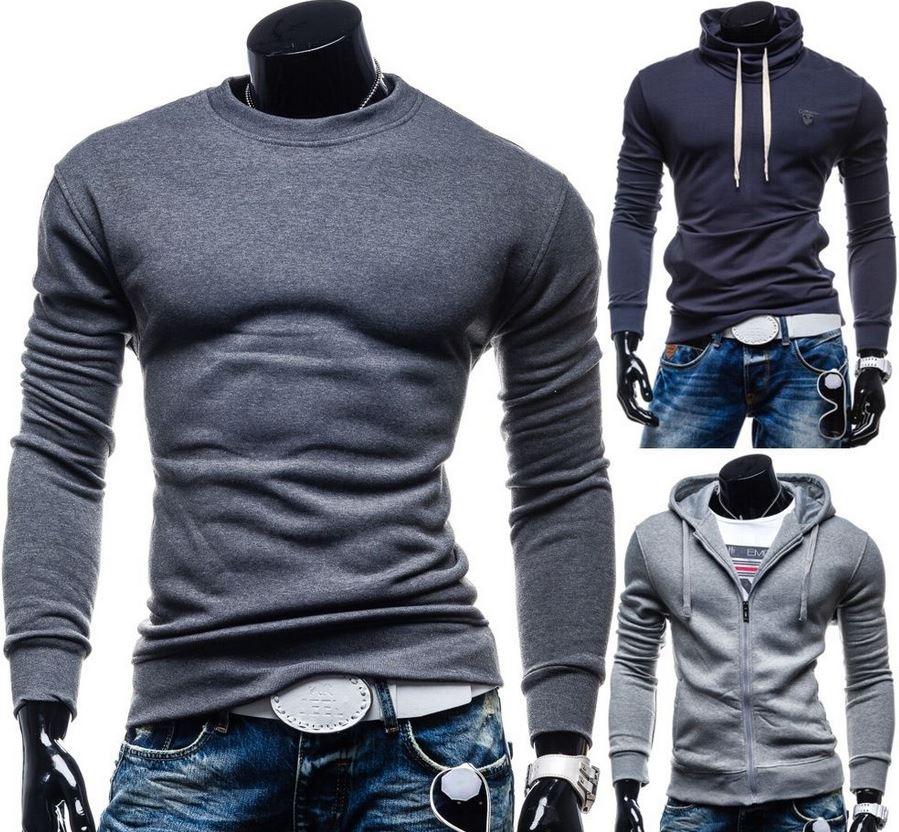 Bolf Herren SlimFit Sweatshirts, Sweatjacken, Hoodies für je 12,95€