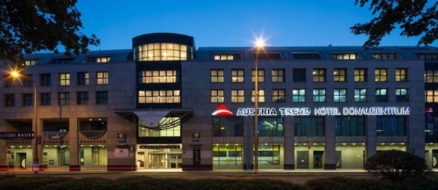 Gutschein für 2 Personen, 2 Nächte im 4* Hotel Austria Trend Donauzentrum Wien für 99€