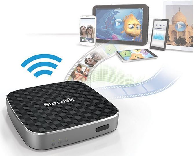 SanDisk Connect Wireless Media Drive mit WLAN für 84,90€ bei den Amazon Speicherdeals