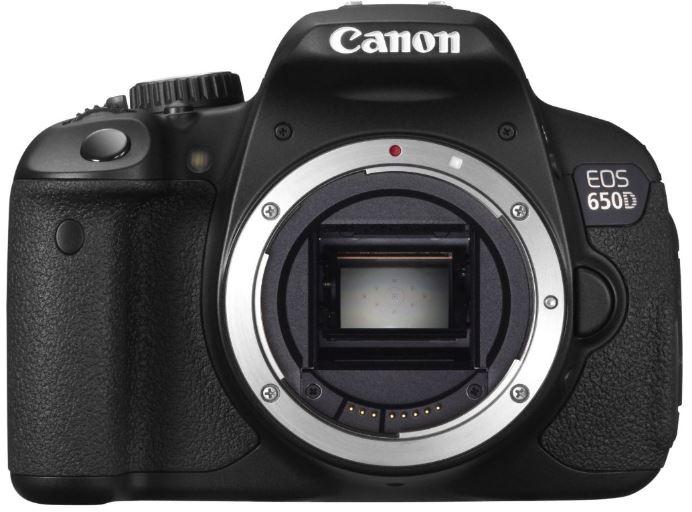Canon EOS 650 D Body   18 MP SLR Kamera für nur 370,50€