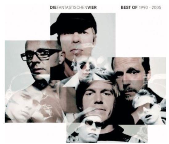 Die Fantastischen Vier   Best Of 1990   2005 für nur 3,99€ im MP3 Download
