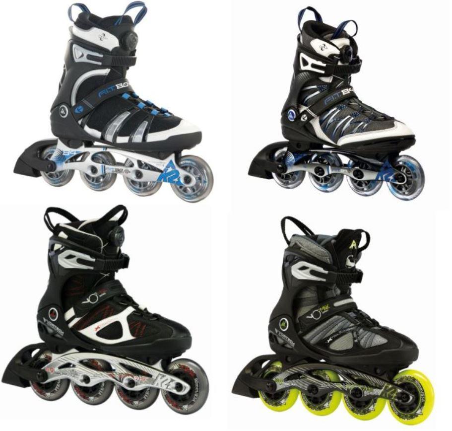 K2 Herren Inliner Skates   5 Modelle für je Paar nur 99,95€