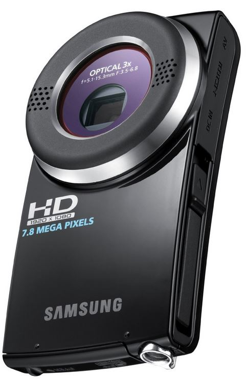 Samsung HMX U20 SP (Mini HD Camcorder, 7.8 Megapixel, MPEG 4) für 28,47€