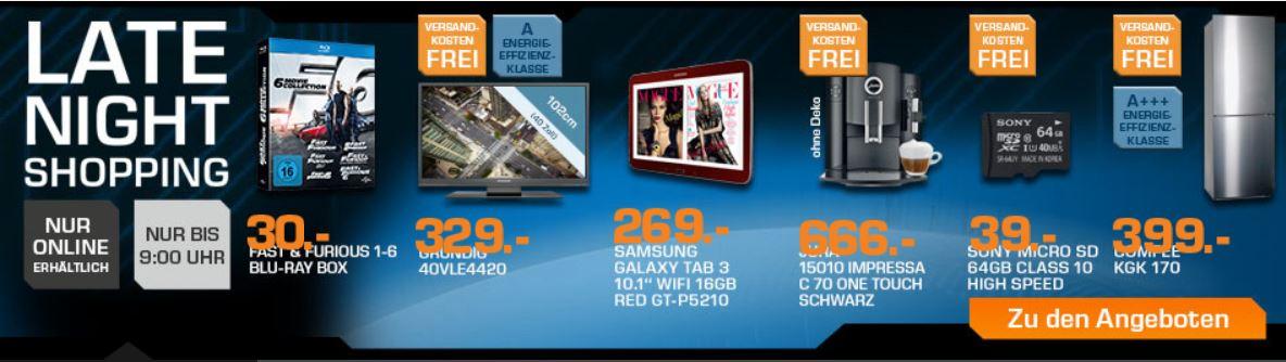 SONY SR64UYA   64GB microSDXC Karte Class 10 für 39€ beim Saturn Late Night Sale