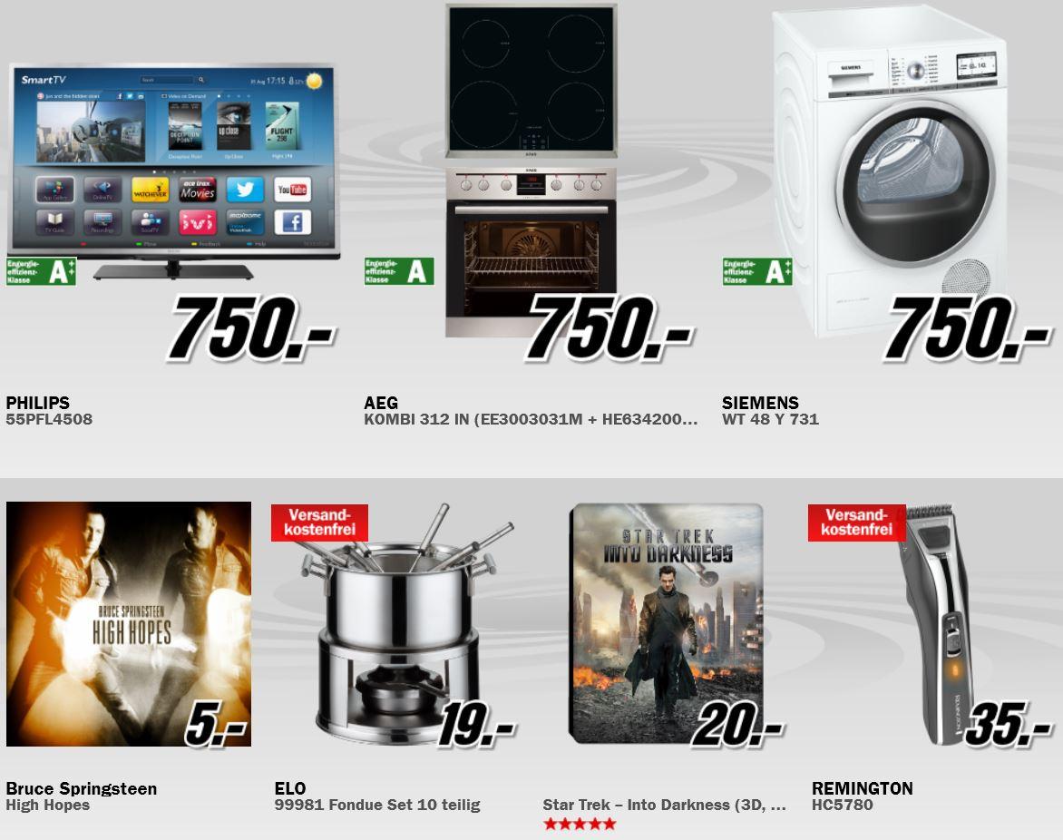 Sony XPERIA M Smartphone für 99€ und mehr Angebote in der neuen MediaMarkt Aktion!