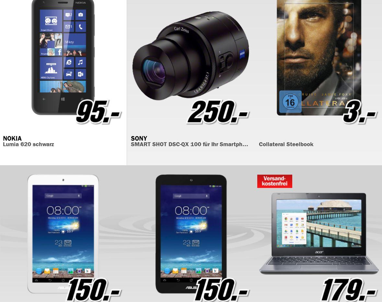 Nokia Lumia 620 für 95€ und mehr Angebote in der MediaMarkt Aktion!