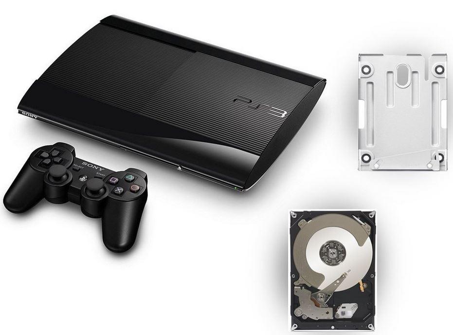 SONY PlayStation 3, Super Slim mit 12GB inkl. 500GB HDD für 124,60€   Update