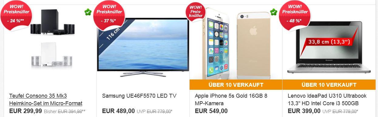 Lenovo IdeaPad U310 Ultrabook für 399€ + die neuen ebay Wochenangebote in der Übersicht
