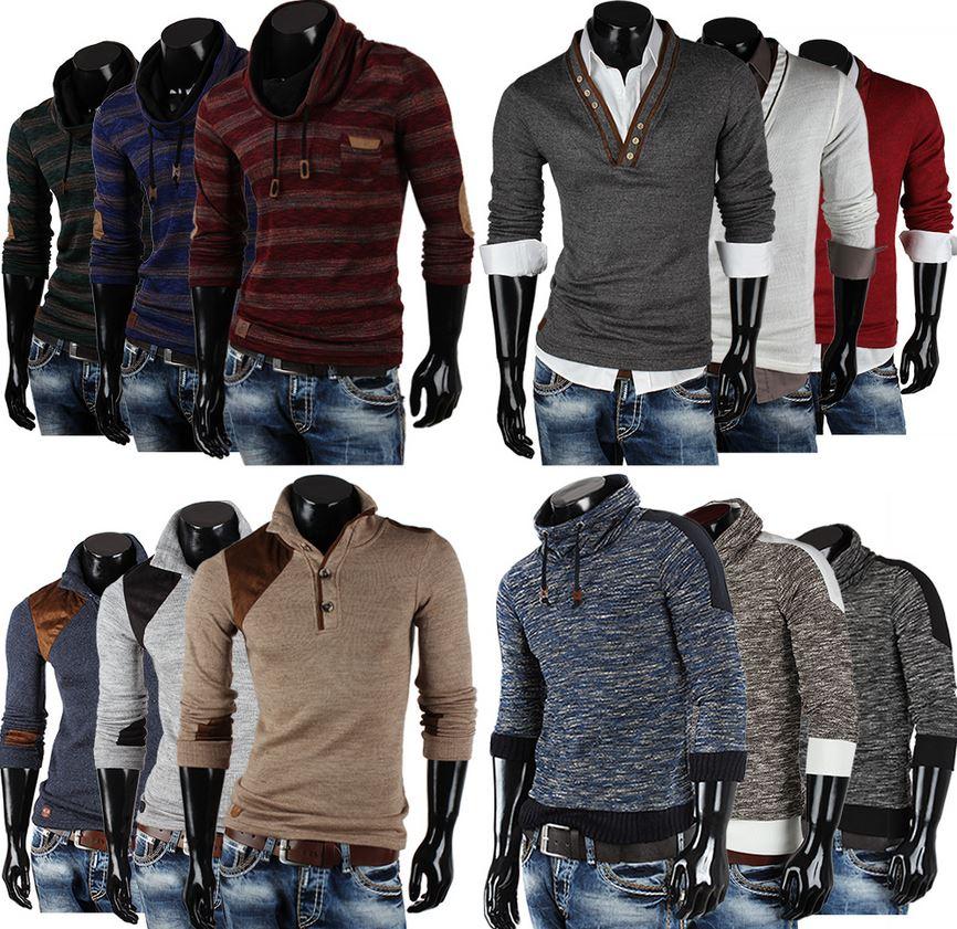 EMIMAY by TAZZIO Herren Pullover, Strickjacken, Grobstrick Pullis, Sweatshirts und Hoodies für je 19,99€