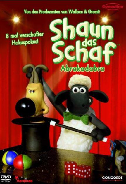 3 DVDs Shaun das Schaf für 15€ inkl. Versand