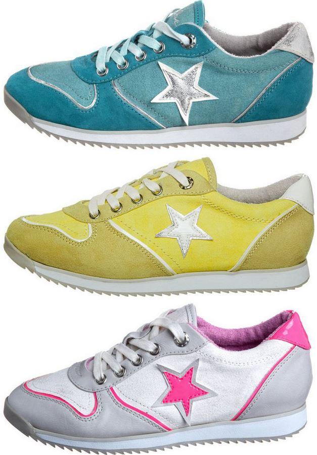 Even&Odd Damen Sneaker im Retro look für je 19,95€