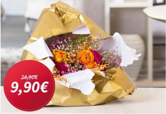 Miflora Blumenstrauß   Wundertüte dank Gutschein nur 9,90€   Update!