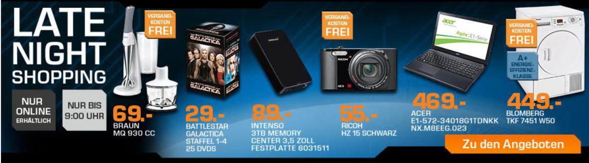 RICOH HZ 15   16MP Digitalkamera für 55€ beim Saturn Late Night Sale   Update