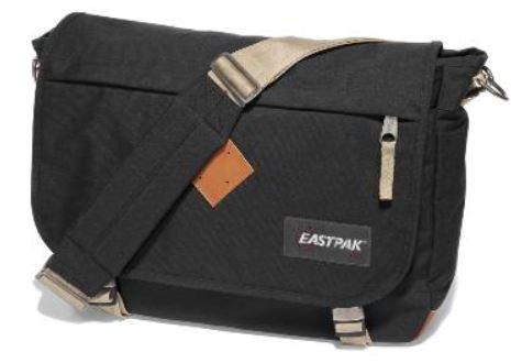 Eastpak Delegate returnity black Umhängetasche mit Notebookfach für nur 34,95€