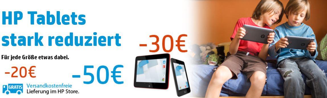 HP Slate 8 Pro 7600eg Tablet nur 219€ und mehr Tablet Rabatte bei HP