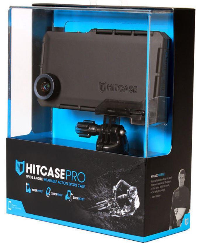 Hitcase PRO Weitwinkelgehäuse für iPhone 4/4S oder 5/5S für je 89€
