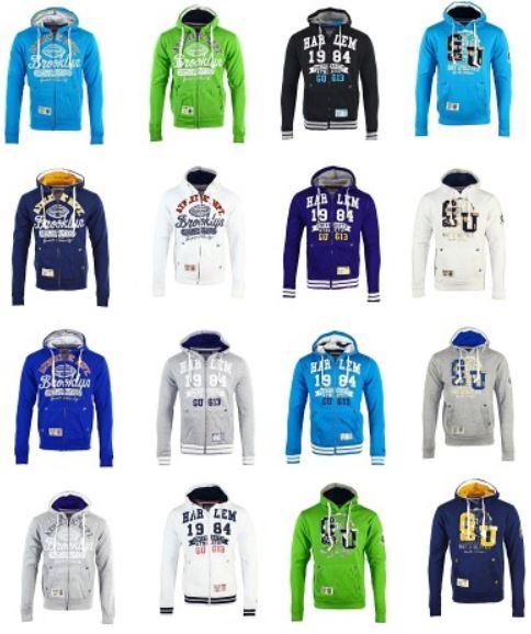 Gangster Unit by Geographical Norway   Hoodies mit und ohne Zipper für je 24,90€