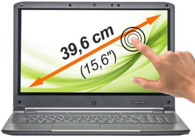 MEDION AKOYA S6212T   15,6 Zoll Touch Notebook mit i3 CPU, 500GB HDD und 4GB RAM für 279,99€   wieder da