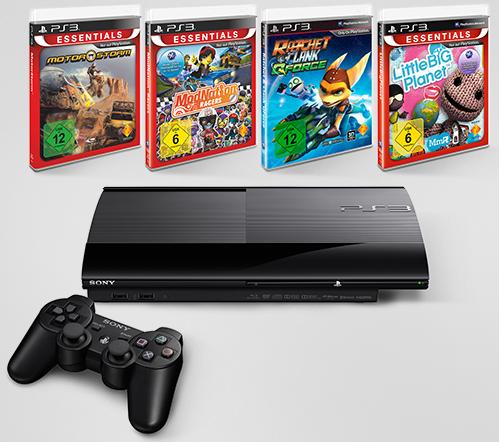 Playstation 3 + 4Games für 139€ inkl. Versand    Update