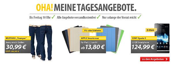 Sony Xperia S als B Ware für 119,97€   und mehr in den OHA! Deals von MeinPaket
