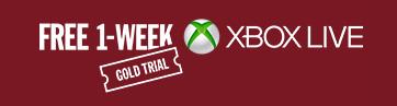 Xbox Live Gold Mitgliedschaft 1 Woche kostenlos testen