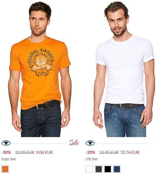 Tom Tailor Sale mit 50% Rabatt + 25% Cashback für den nächsten Einkauf