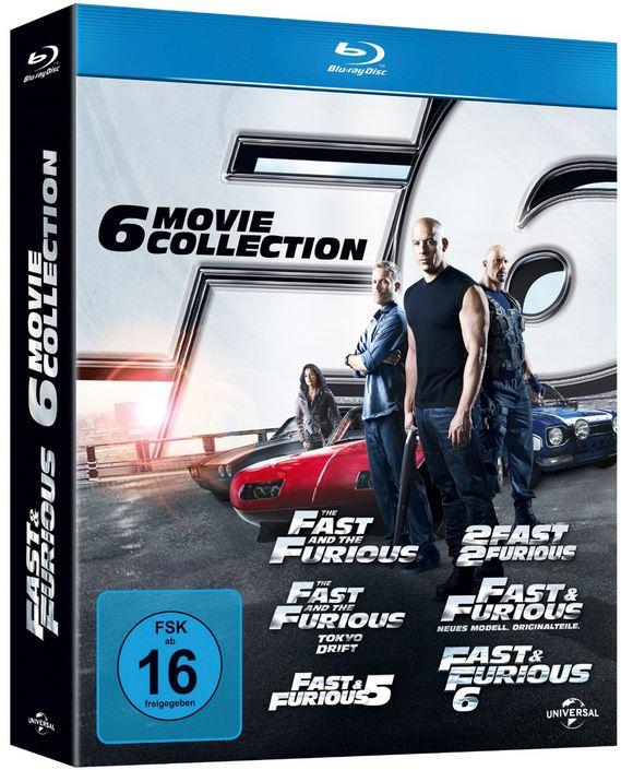 Fast & Furious 1 6 [Blu ray] für 29,97€ bei den Media Frühjahrsschnäppchen Tag 3