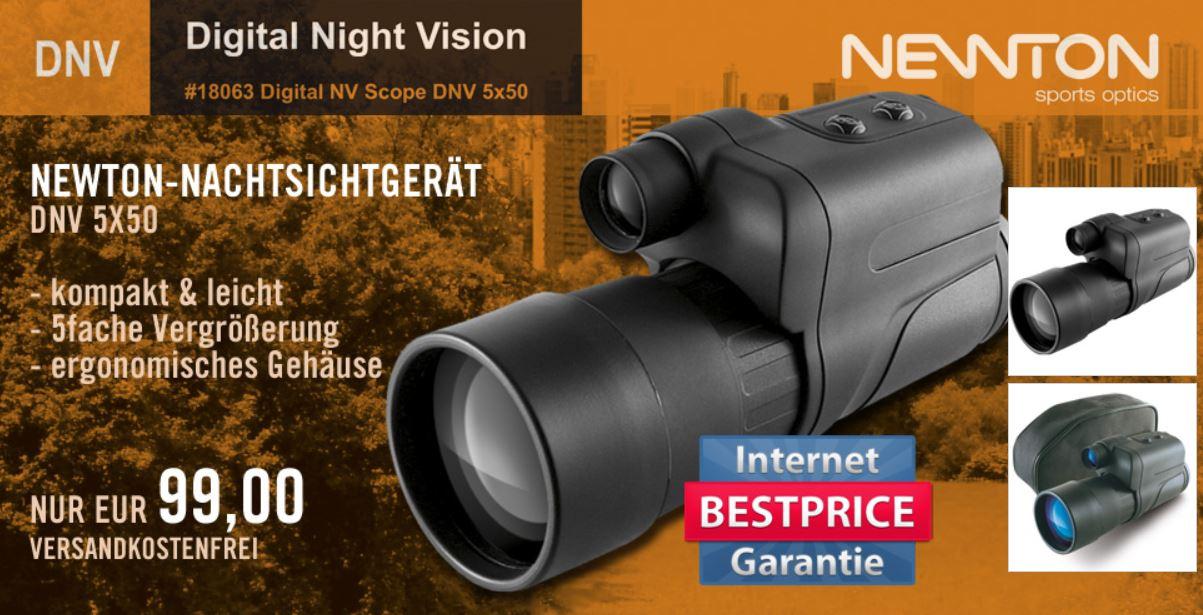 Yukon Newton DNV 5x50 Nachtsichtgerät für nur 99€