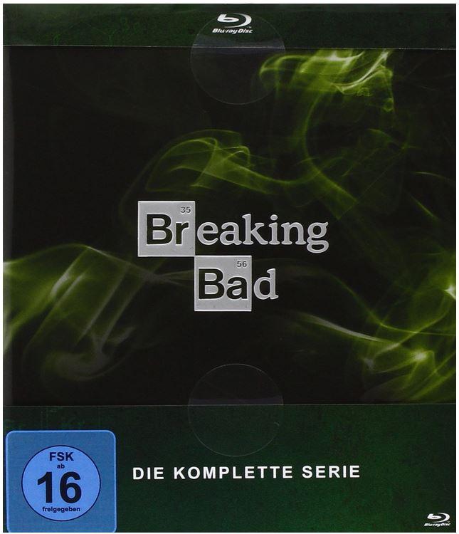 Breaking Bad   Die komplette Serie [Blu ray] für 89,97€ bei den Media Frühjahrsschnäppchen Tag 6