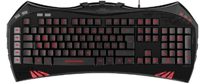 Speedlink SL 6481 BK Virtuis Advanced Gaming Tastatur für 29€
