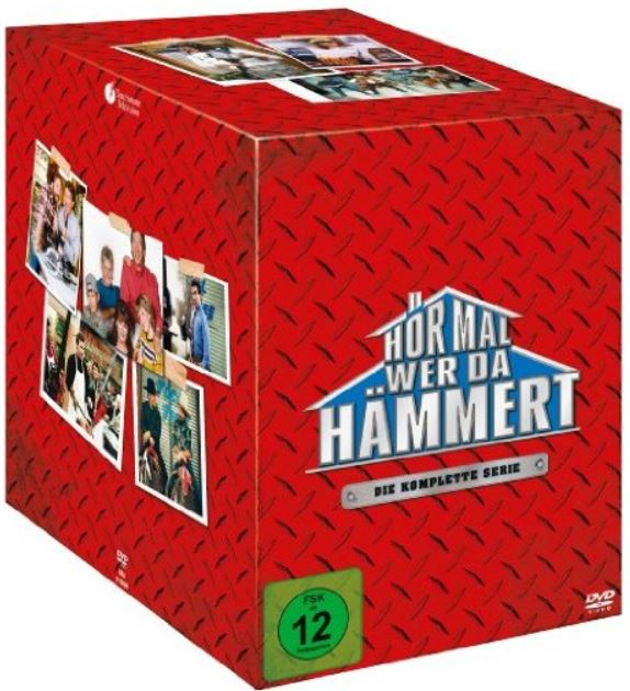 Hör mal, wer da hämmert   Komplettbox, Staffel 1 8 [28 DVDs] für 32,97€ bei den Media Frühjahrsschnäppchen Tag 7