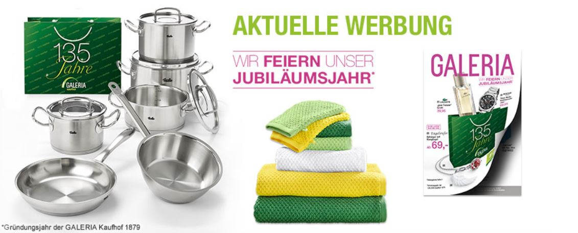 Galeria Kaufhof güne Nächte Late Night Shopping   Aktion gestartet!
