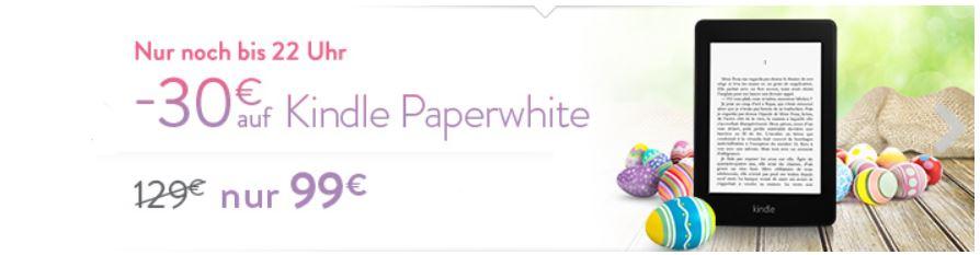 Der neue Kindle Paperwhite für 99€   Update!