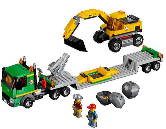 Lego City 4203   Grubenbagger mit Transporter für 19,99€ dank neuen Gutschein