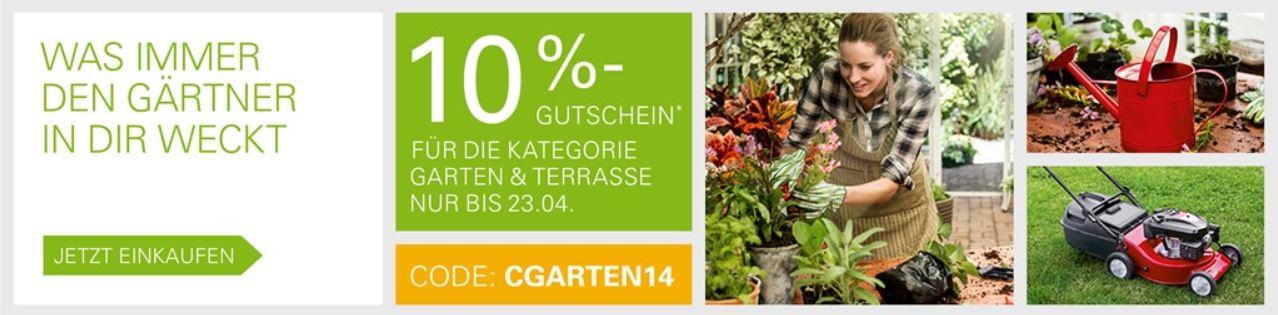 10% Rabatt in der Kategorie Garten & Terrasse bei ebay mit PayPal Zahlung   Update