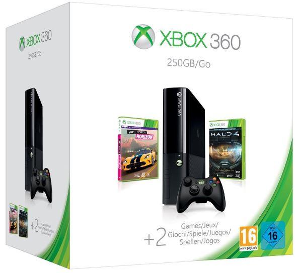 Xbox 360 250GB (Xbox One Design) inkl. Halo 4 und Forza Horizon für 189€ bei den Media Frühjahrsschnäppchen Tag 11