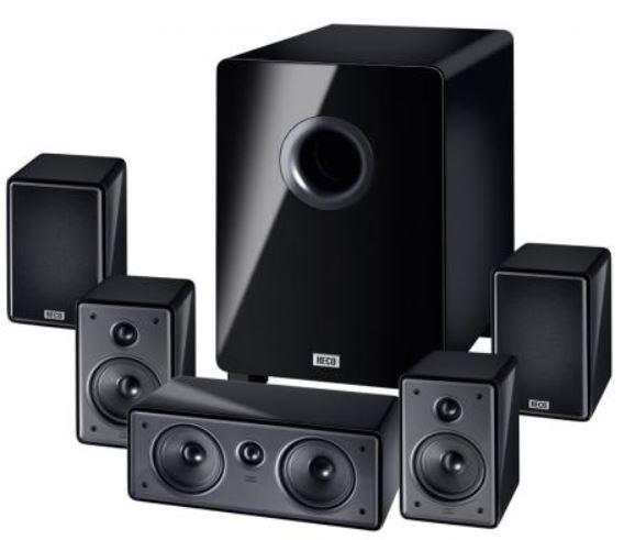 Heco Music Colors Cinema 5.1 A   5.1 Lautsprechersystem für 366,99€