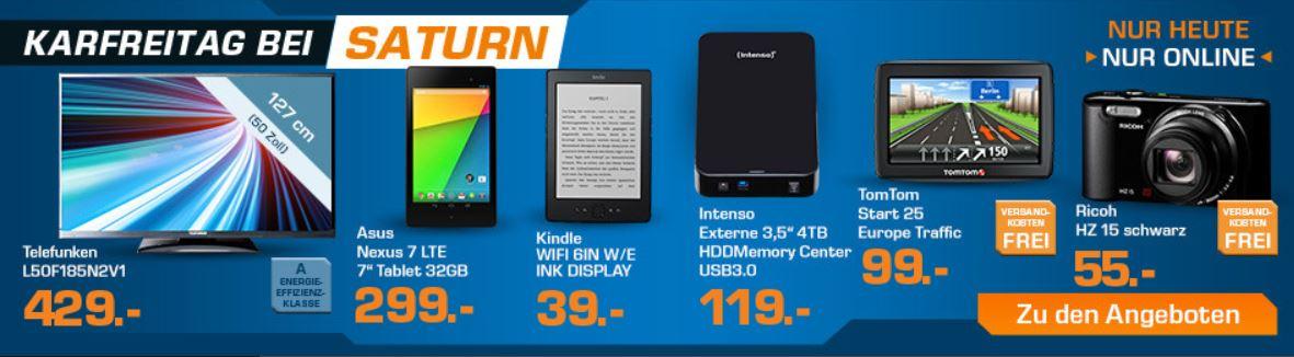 TELEFUNKEN L50F185N2V   50 Zoll TV für 429€ bei den Saturn Super Friday Angeboten!