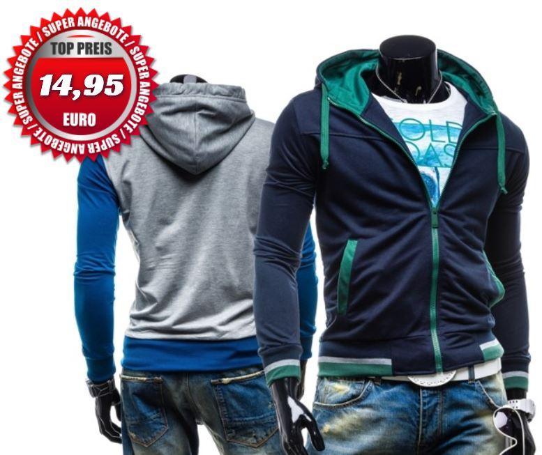 EMT Bolf   Herren Sweatshirts mit Zipper und Hoodies für je 14,95€