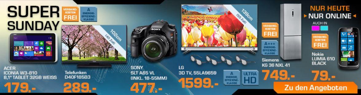LG 55LA9659   55 Zoll Ultra HD TV für 1.599€ und mehr bei den Saturn Super Sunday Angeboten