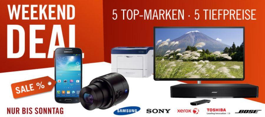 Toshiba 32L4333DG   32 Zoll für 239€ und mehr Cyberport Weekend Deals!