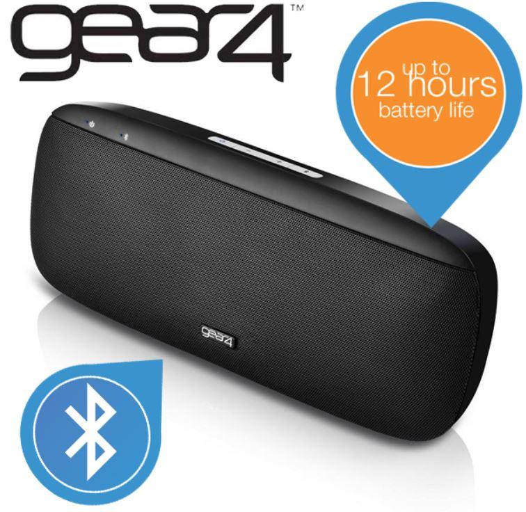 Gear4 Houseparty   Portabler Bluetooth Lautsprecher für 35,90€