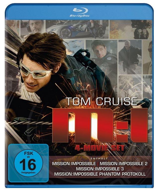 Mission: Impossible – M:I 4 Blu ray Movie Set für 24,99€ und mehr Amazon Blitzangebote