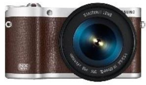 Samsung NX300 Systemkamera   20,3MP Systemkamera Kit in 3 Farben für je 299€