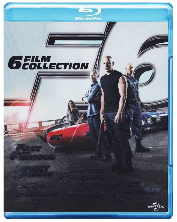 Fast und Furious   Blu ray 6 Movie Collection ab 26,99€