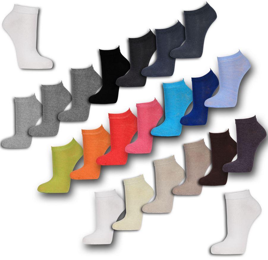 12 Paar Sneaker Socken   Damen, Herren und Kinder für 8,95 inkl. Versand