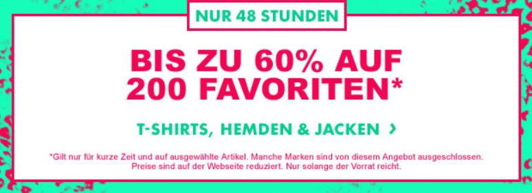 60% Rabatt auf ausgewählte Kleidung bei ASOS